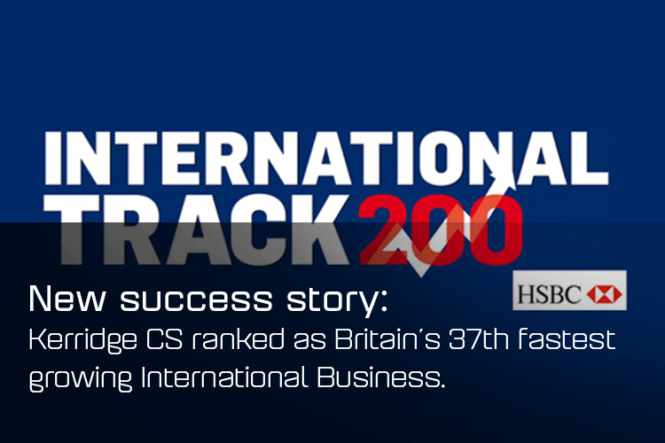 Kerridge CS ranked in Sunday Times HSBC International Track 200!